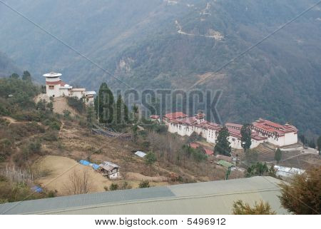 Trongsa District- Monastic And Govt Office