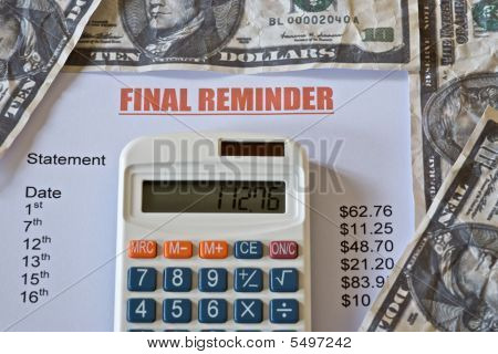 Final Reminder Bill