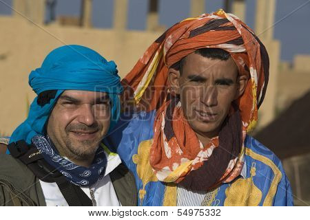 Camel Driver And Mate