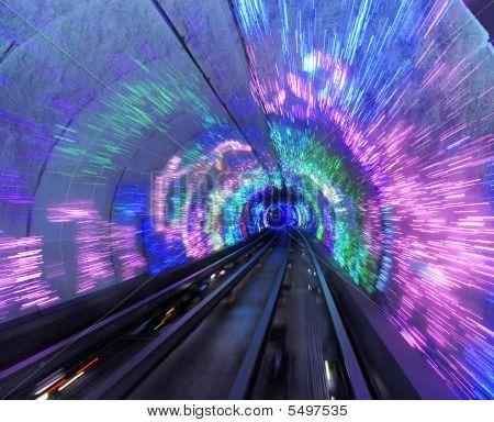 Bund Tourist Tunnel Shanghai, China