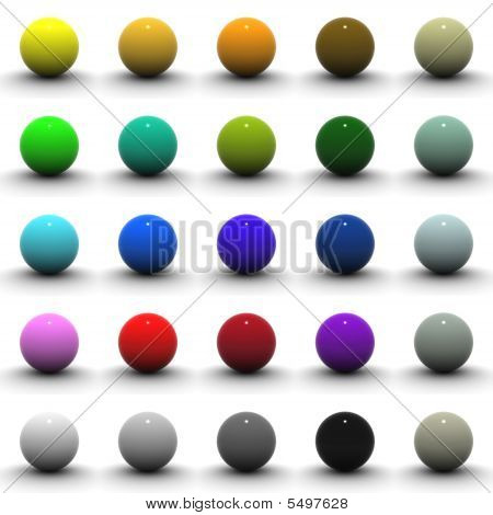 3D Sphere Collection