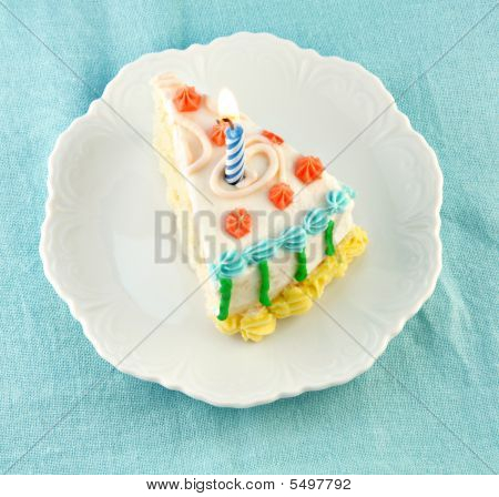 Slice Of Birthday Cake