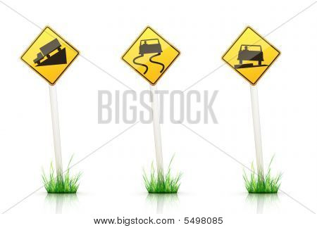 Traffic Signs Warning