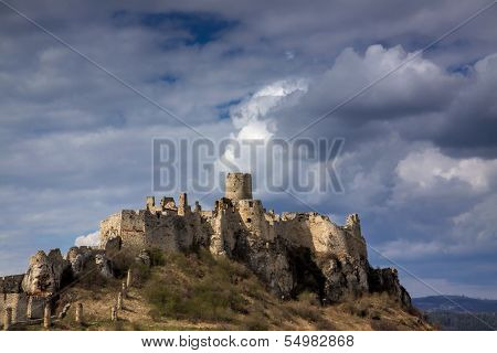 Spis Castle In Slovakia