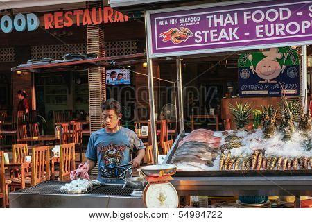 Tha seafood restaurant