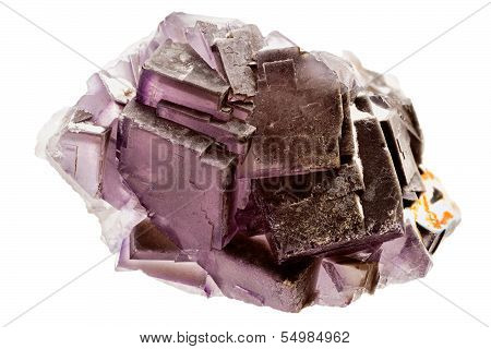 Purple Fluorite Crystal