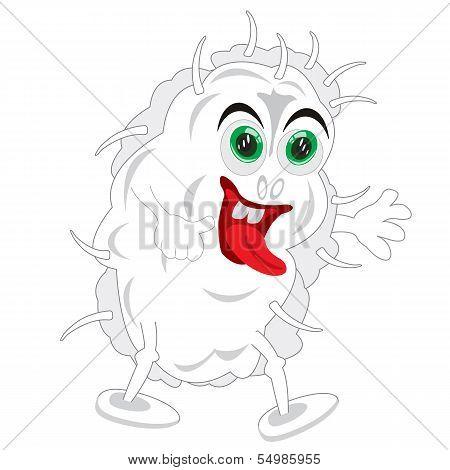 Vector illustration monster