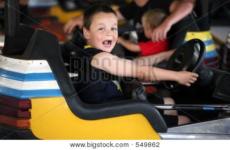 Bumper Car Kid