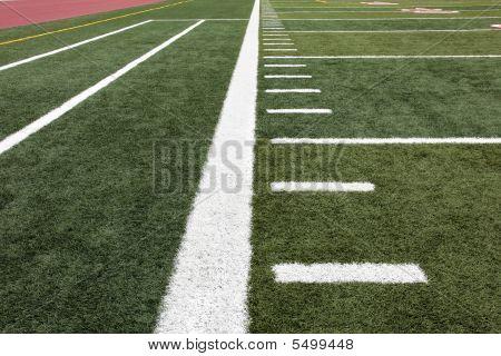 Hash Marks On Football Field