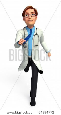 Young Doctor is running