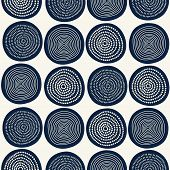 image of dash  - Seamless stylish hand drawn pattern - JPG