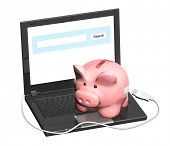 pic of electronic banking  - Electronic bank account - JPG