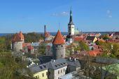Historic Old Centre Of Tallinn poster
