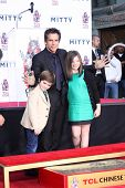 LOS ANGELES - DEC 3:  Quinlin Dempsey Stiller, Ben Stiller, Ella Olivia Stiller at the Ben Stiller H