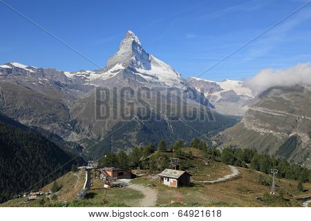 mountain landscape at Zermatt