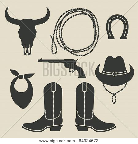 cowboy rodeo set