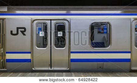 JR Train in Tokyo
