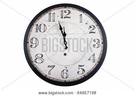 Vintage Round Wall Clock