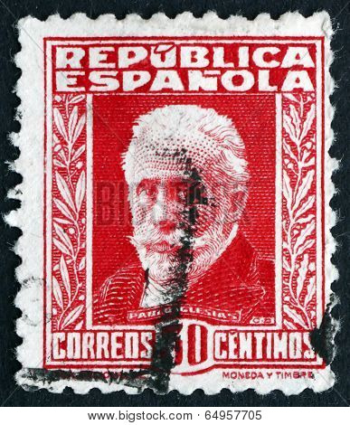 Postage Stamp Spain 1931 Pablo Iglesias, Labour Leader