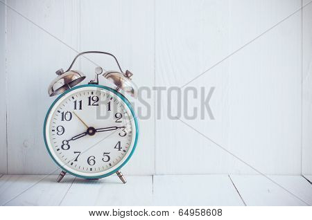 Big Old Vintage Alarm Clock