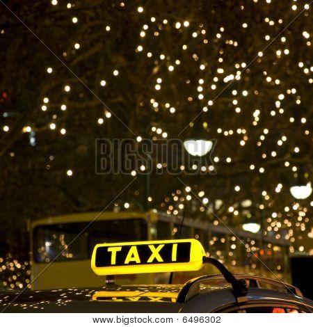 German Taxi Sign