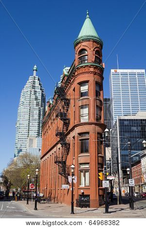 Flatiron (gooderham)  Building In Toronto
