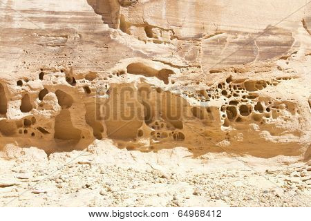 Wind and Weather Erosion