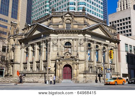 Hockey Hall Of Fame Building In Toronto