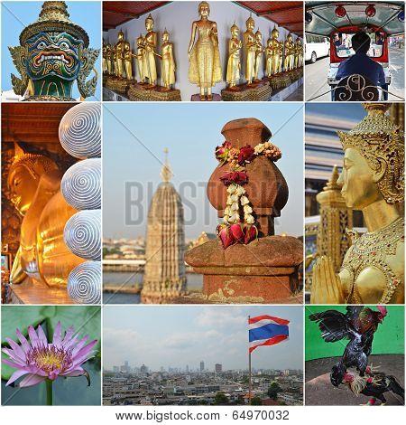Bangkok Collage