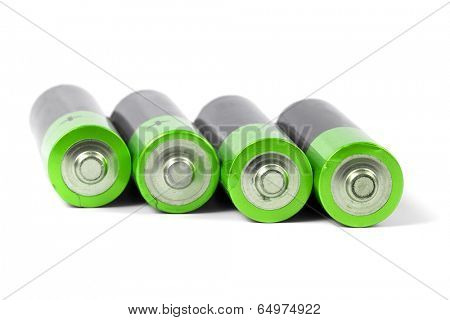 A set a of AA size batteries