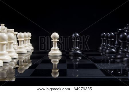 Chess Pawn Stalemate