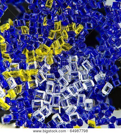 plastic polymer granule product