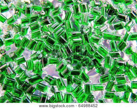plastic polymer granule