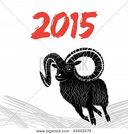 Vector Image Of Goat Or Sheep