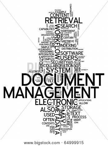 Word Cloud Document Management