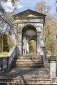 picture of sankt-peterburg  - Marble bridge in the Catherine Park Sankt - JPG