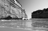 foto of 12 apostles  - Loch Ard Gorge on the Great Ocean Road Australia near the Twelve Apostles - JPG