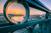 pic of dom  - Dom Luis 1 Bridge in Porto Portugal - JPG