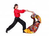 picture of gypsy  - Gypsy flamenco dancer couple - JPG