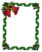 stock photo of card christmas  - Image and illustration composition Christmas design with holly leaves - JPG