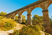 picture of ravines  - Aqueducts from the Roman area  - JPG