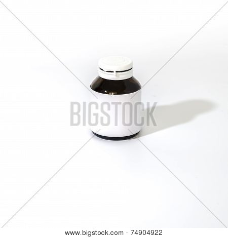 Empty Pill Bottle