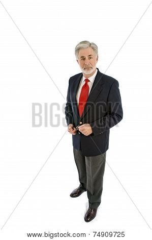Well Dressed Businessman Isolated