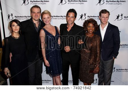 LOS ANGELES - OCT 24:  State of Affairs Cast at the Big Brothers Big Sisters Big Bash at the Beverly Hilton Hotel on October 24, 2014 in Beverly Hills, CA