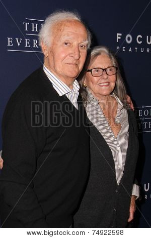 LOS ANGELES - OCT 24:  Robert Loggia, Audrey Loggia at the
