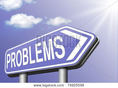 problems solved find solution and get out of trouble and solve problem