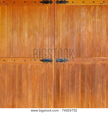Old Wooden Gate