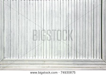 White Old Wood  Paneling