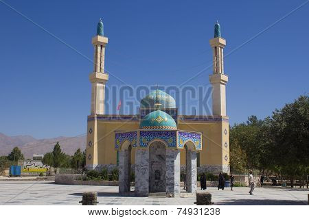 The Shrine Of Yahya Ibn Musa Al Kazim