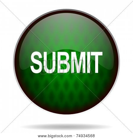 submit green internet icon